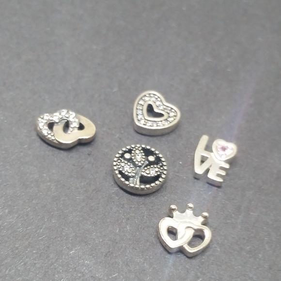 76a34c6c6 Pandora Jewelry | Nwot Bundle Of 5 Authentic Petite Charms | Poshmark